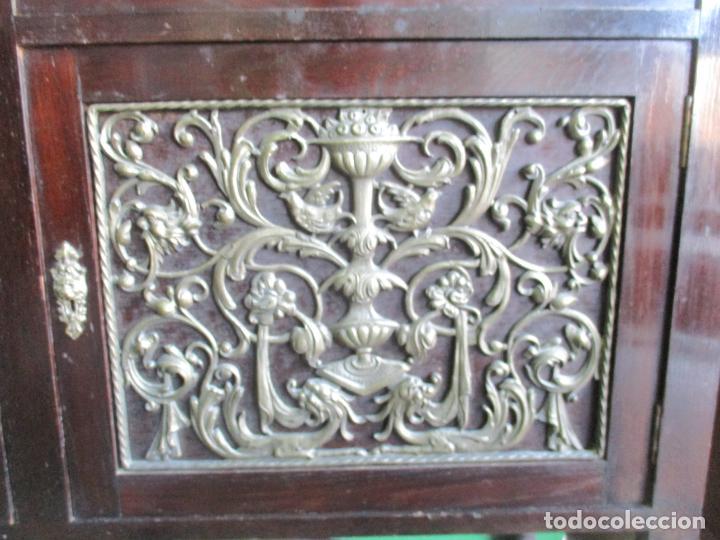 Antigüedades: Antiguo Comedor, Estilo Renacimiento - Madera de Roble - Decoraciones en Bronce - Circa 1900 - Foto 71 - 143378974