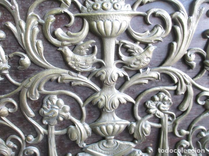 Antigüedades: Antiguo Comedor, Estilo Renacimiento - Madera de Roble - Decoraciones en Bronce - Circa 1900 - Foto 72 - 143378974