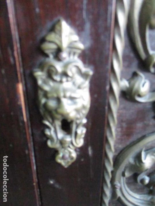 Antigüedades: Antiguo Comedor, Estilo Renacimiento - Madera de Roble - Decoraciones en Bronce - Circa 1900 - Foto 74 - 143378974