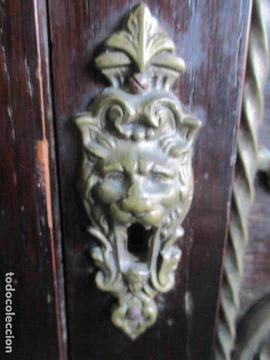Antigüedades: Antiguo Comedor, Estilo Renacimiento - Madera de Roble - Decoraciones en Bronce - Circa 1900 - Foto 78 - 143378974