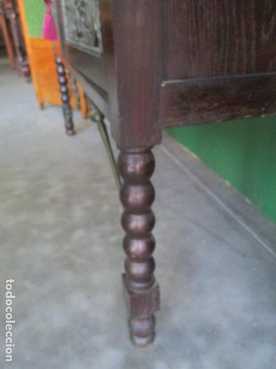 Antigüedades: Antiguo Comedor, Estilo Renacimiento - Madera de Roble - Decoraciones en Bronce - Circa 1900 - Foto 94 - 143378974
