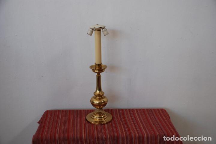 Antigüedades: LAMPARA DE SOBREMESA - Foto 2 - 143384850