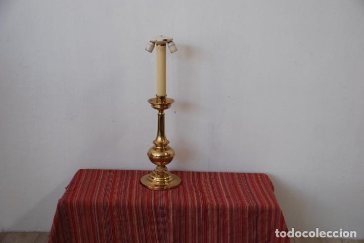 Antigüedades: LAMPARA DE SOBREMESA - Foto 3 - 143384850