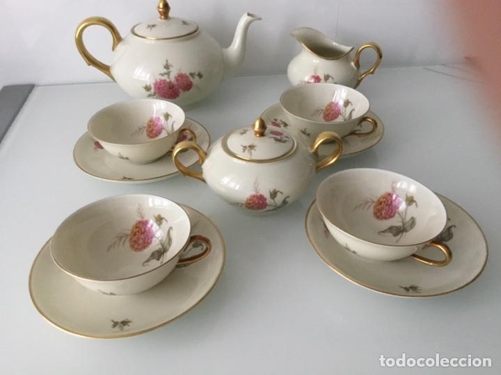 ANTIGUO JUEGO DE CAFÉ / TE / MERIENDA AÑOS 50 BIDASOA (Antigüedades - Porcelanas y Cerámicas - Otras)