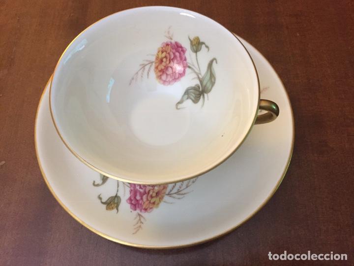 Antigüedades: Antiguo Juego de café / te / merienda años 50 Bidasoa - Foto 4 - 143402937