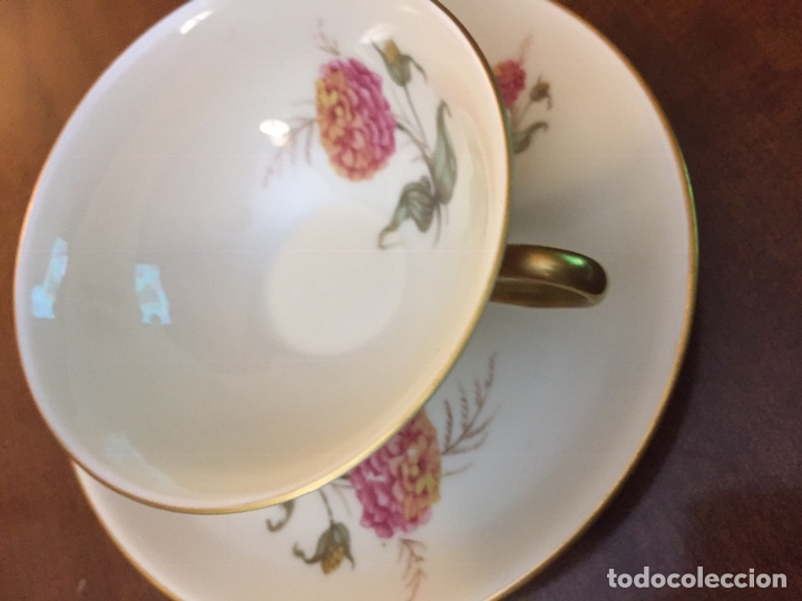 Antigüedades: Antiguo Juego de café / te / merienda años 50 Bidasoa - Foto 5 - 143402937