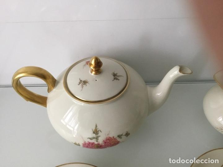 Antigüedades: Antiguo Juego de café / te / merienda años 50 Bidasoa - Foto 9 - 143402937