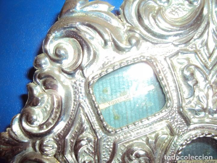 Antigüedades: (ANT-18122)RELICARIO GRANDES DIMENSIONES METAL PLATEADO - Foto 7 - 143404410