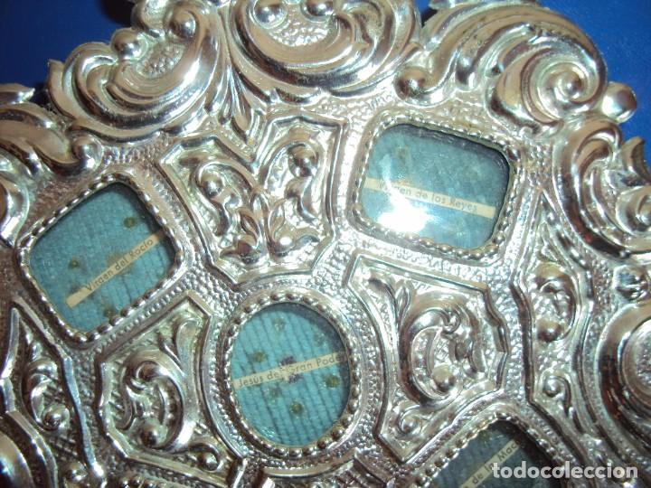 Antigüedades: (ANT-18122)RELICARIO GRANDES DIMENSIONES METAL PLATEADO - Foto 8 - 143404410