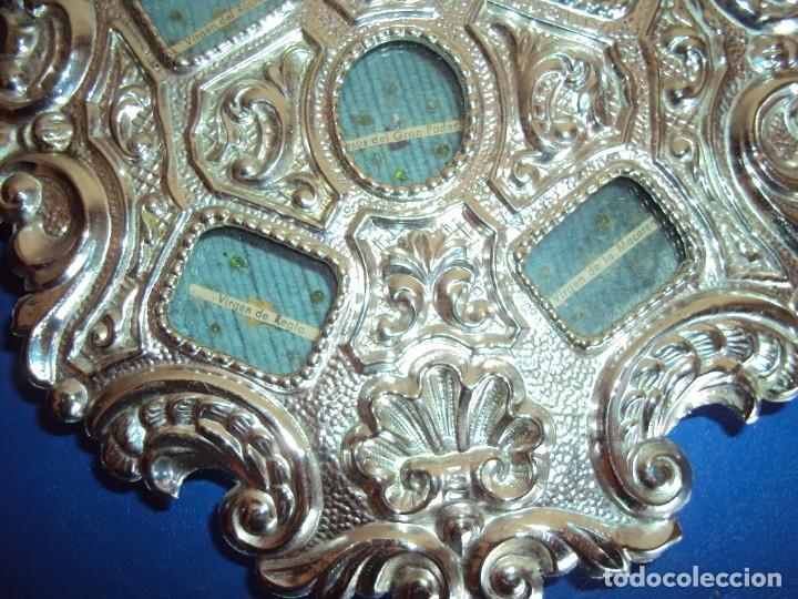 Antigüedades: (ANT-18122)RELICARIO GRANDES DIMENSIONES METAL PLATEADO - Foto 9 - 143404410
