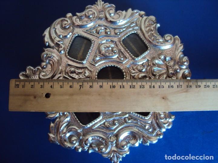 Antigüedades: (ANT-18122)RELICARIO GRANDES DIMENSIONES METAL PLATEADO - Foto 12 - 143404410
