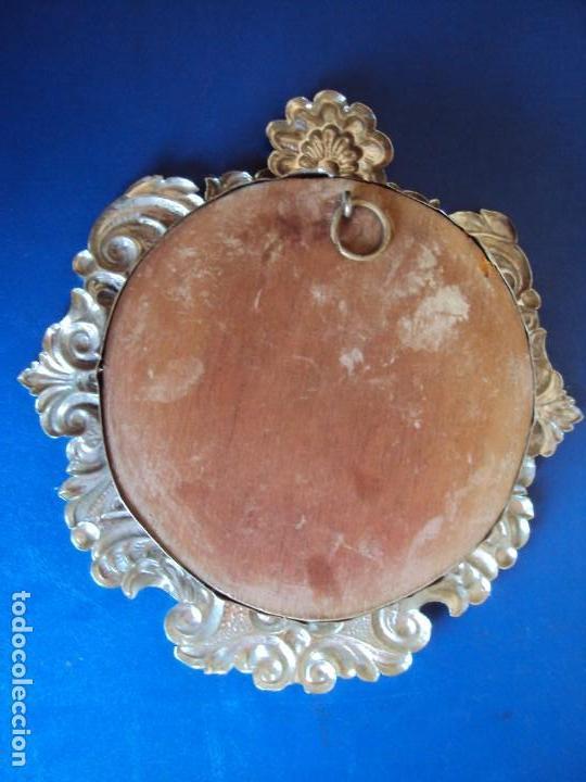 Antigüedades: (ANT-18122)RELICARIO GRANDES DIMENSIONES METAL PLATEADO - Foto 13 - 143404410