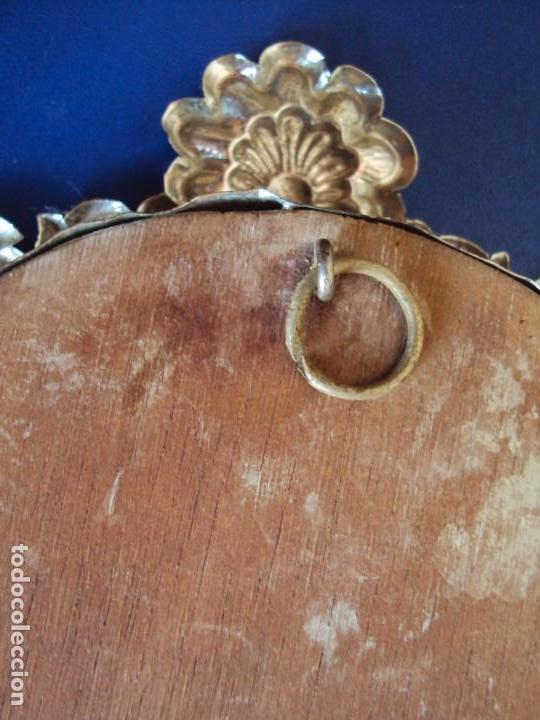 Antigüedades: (ANT-18122)RELICARIO GRANDES DIMENSIONES METAL PLATEADO - Foto 14 - 143404410