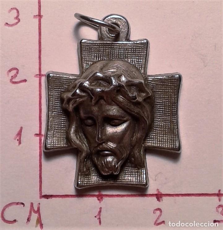 CRUCIFIJO - CRUZ. CRISTO (Antigüedades - Religiosas - Crucifijos Antiguos)