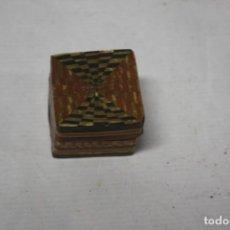 Antigüedades: CAJA EN MADERA. Lote 143407266