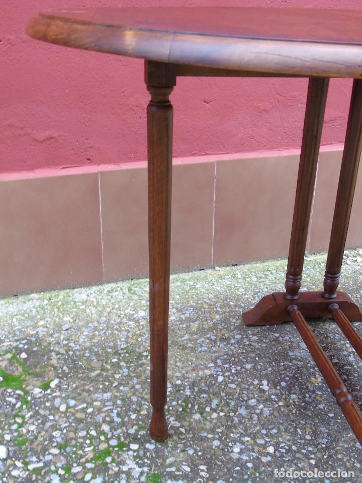 Antigüedades: ANTIGUA MESA DE ALAS - Foto 13 - 143420130