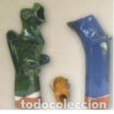 Antigüedades: GÁRGOLA ANIMAL GRANDE. MATE ROJO. Lote 143470982