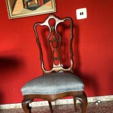 Antigüedades: ELEGANTES SILLAS DE COMEDOR. Lote 143540398