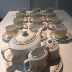 Antigüedades: JUEGO DE CAFÉ O TE HUTSCHENREUTHER. Lote 143549740