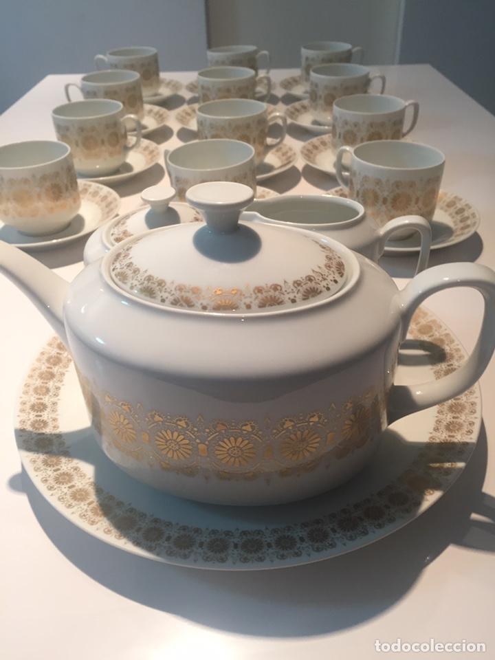 Antigüedades: Juego de café o te Hutschenreuther - Foto 2 - 143549740