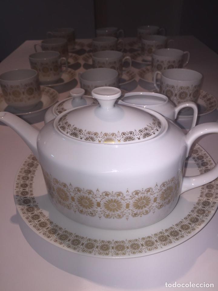 Antigüedades: Juego de café o te Hutschenreuther - Foto 3 - 143549740