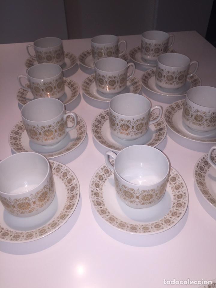 Antigüedades: Juego de café o te Hutschenreuther - Foto 5 - 143549740