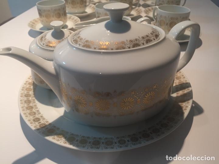 Antigüedades: Juego de café o te Hutschenreuther - Foto 6 - 143549740