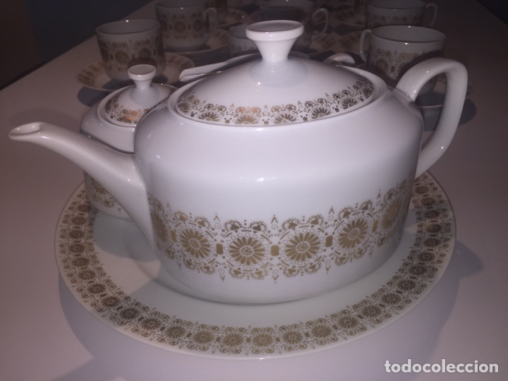 Antigüedades: Juego de café o te Hutschenreuther - Foto 7 - 143549740