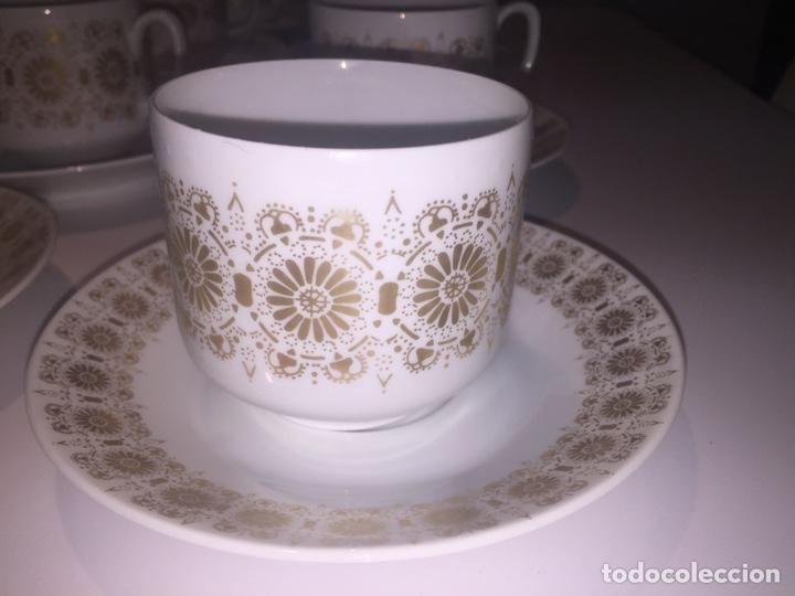 Antigüedades: Juego de café o te Hutschenreuther - Foto 8 - 143549740