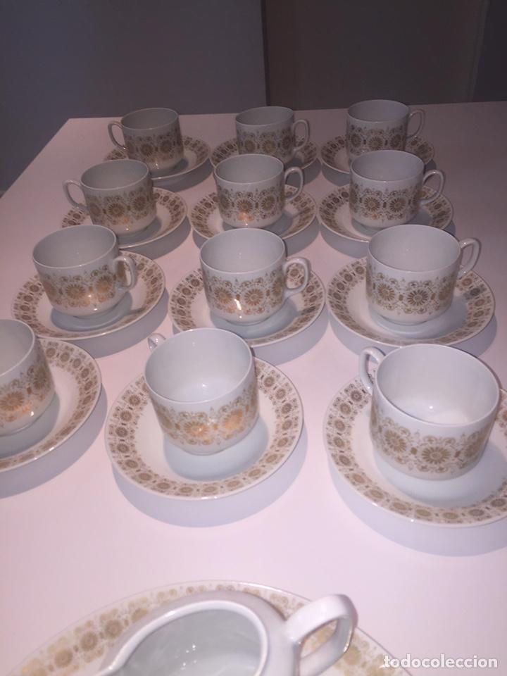 Antigüedades: Juego de café o te Hutschenreuther - Foto 9 - 143549740