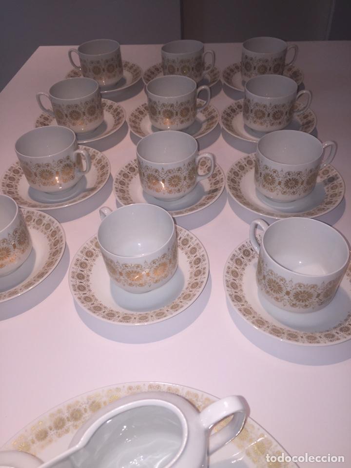 Antigüedades: Juego de café o te Hutschenreuther - Foto 10 - 143549740