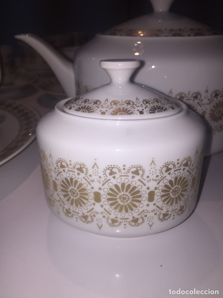 Antigüedades: Juego de café o te Hutschenreuther - Foto 12 - 143549740