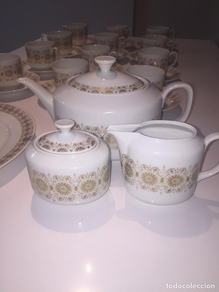 Antigüedades: Juego de café o te Hutschenreuther - Foto 13 - 143549740