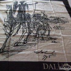 Antigüedades: PAÑUELO DE SEDA DALI DE COLECCION. Lote 129364227