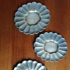 Antigüedades: BANDEJAS DE PLATA. Lote 143592658