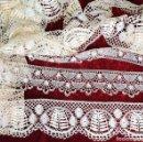 Antigüedades: BANDAS DE ENCAJE DE BOLILLOS. 800 CM. REALIZADAS A MANO. ESPAÑA. SIGLOS XIX-XX. Lote 143612138