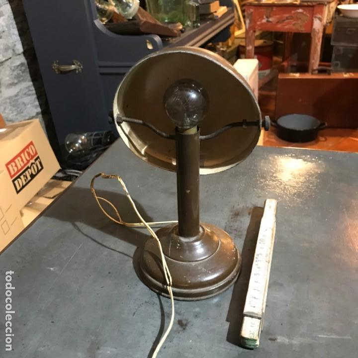 Antigüedades: Pequeña lámpara industrial - Foto 5 - 143636786