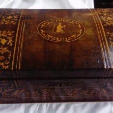 Antiquitäten - caja de marquetería - 143651240