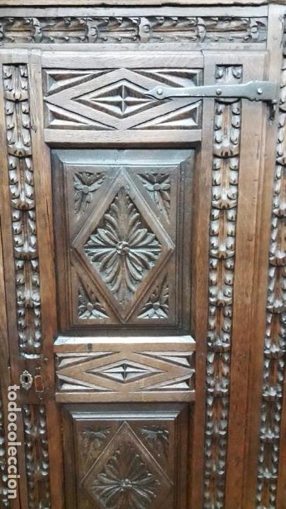 Antigüedades: Armario barroco siglo XVIII - Foto 3 - 143662690