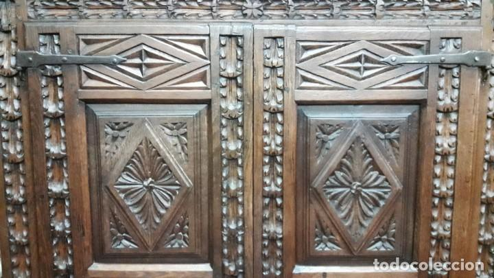 Antigüedades: Armario barroco siglo XVIII - Foto 4 - 143662690