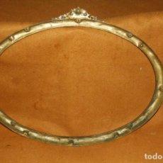 Antigüedades: PRECIOSO MARCO OVALADO. Lote 143666394
