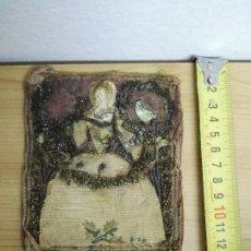 Antigüedades: ESCAPULARIO MUY ANTIGUO, PROBABLEMENTE S.XVII-XVIII. Lote 143650510