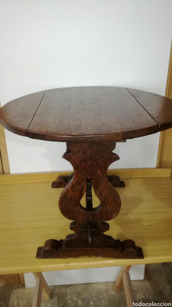 Antigüedades: Mesa de roble baja muy bonita - Foto 2 - 143705097