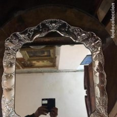Antigüedades: ESPEJO DE PLATA 925. Lote 143724029