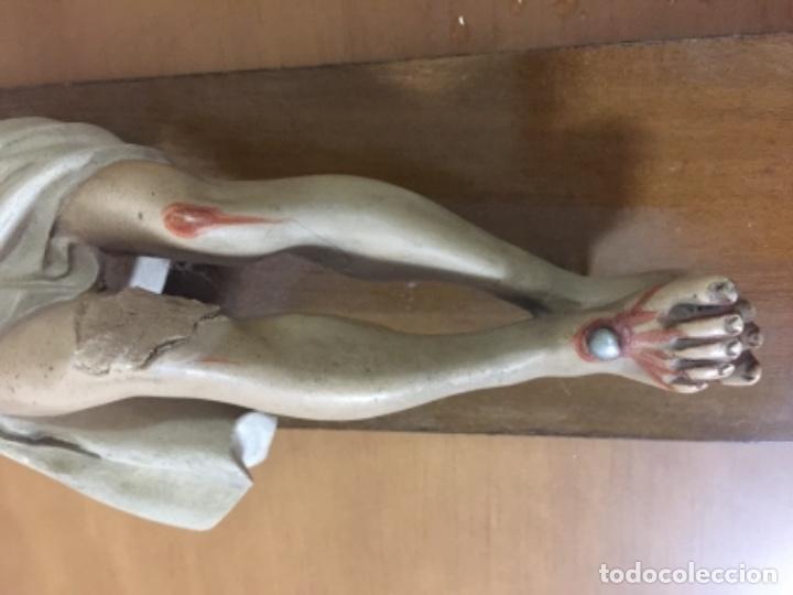 Antigüedades: Antiguo crucifijo antiguo - Foto 4 - 143747754