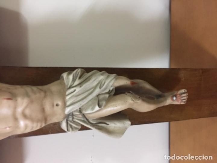 Antigüedades: Antiguo crucifijo antiguo - Foto 6 - 143747754