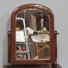 Antigüedades: BONITO TOCADOR CON ESPEJO ORIGINAL. SIGLO XIX. Lote 143775490