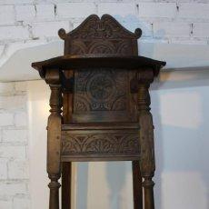 Antigüedades: PRECIOSA TRONA DE NOGAL. Lote 143787870