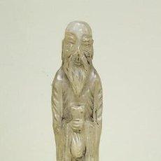 Antigüedades: J4-ANTIGUA FIGURA ALABASTRO 43 CMS 3.4KGS. Lote 143795406