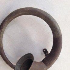 Antigüedades: ANTIGUO CORNETIN BRONCE INGLES CORNETA DE CAZA INSTRUMENTO CORNETA COLECCION. Lote 143813874